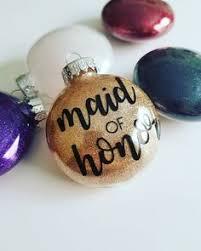 first christmas married ornament wedding favor custom holiday