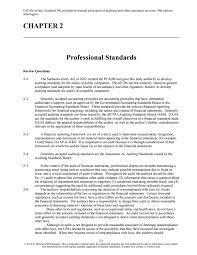 solution manual principles of auditing and other assurance