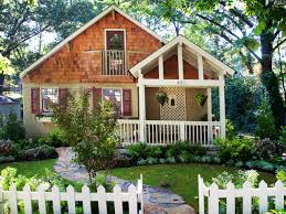 simple front yard landscaping ideas with small fences amys office