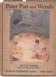peter pan and wendy j m barrie mabel lucie attwell illustrator