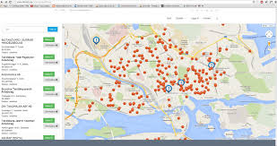 g00gle map javascript maps setcenter focus on location stack