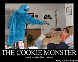 Cookie Monster Meme - cookie monster by kellarn on deviantart