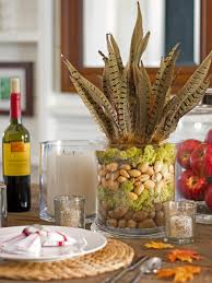 Dining Room Table Decorations For Thanksgiving Dinner With Glass
