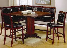 corner kitchen table unique furniture dining room table with corner bench seat as wells high
