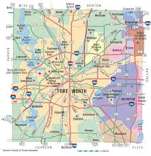 Texas State Park Map by Tarrant County The Handbook Of Texas Online Texas State