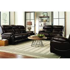 Leather Reclining Sofa Loveseat by Braxton Leather Living Room Reclining Sofa U0026 Loveseat Uxw9872
