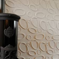 quirky feature wall modern textured wallpaper designs for living