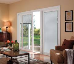 patio doors plantation shutters for sliding glass patio doors