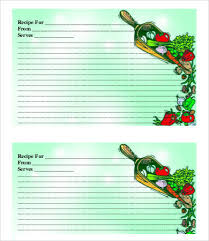 recipe card template 10 free pdf download free u0026 premium
