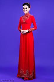 ao dai cuoi dep thêm những mẫu áo dài cưới đẹp cho cô dâu lựa chọn flower