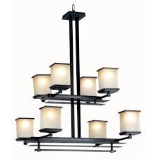 Home Depot Bronze Chandelier Kenroy Home Plateau 8 Light Oil Rubbed Bronze Chandelier With