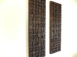 double wooden chocolate bars hanging 2 40 x 12 x 2 home