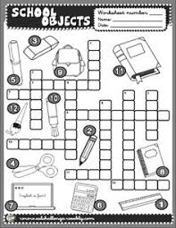 objects worksheet inglese pinterest english fun