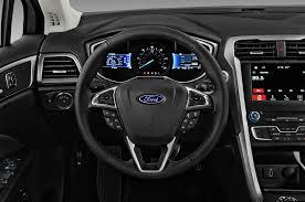 ford fusion 2017 ford fusion hybrid steering wheel interior photo automotive com