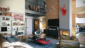 small loft living room ideas loft apartment design attractive loft apartment with an interior