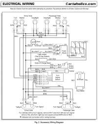 yamaha golf cart light wiring diagram wiring diagram and