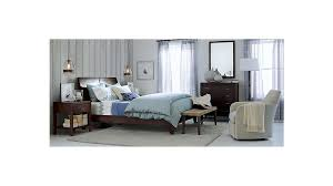 Bed And Nightstand Dawson Clove Nightstand Crate And Barrel
