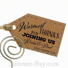 Wedding Gift Tags Personalized Kraft Wedding Favor Gift Tags With Twine Summer Ray Com