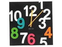 Buy D Big Digit Stylish Modern Designer Wall Clock Online Best - Modern designer wall clocks