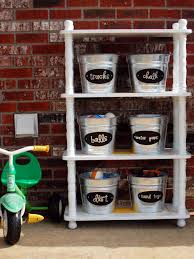 clever uses for everyday items in the garage hgtv
