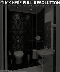bathroom design cool black bathroom tile design ideas white and