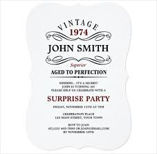21 personalized birthday invitation templates u2013 free sample