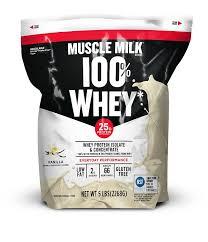 100 calorie muscle milk light vanilla crème amazon com muscle milk 100 whey protein powder vanilla 25g