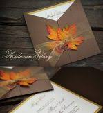 cheap fall wedding invitations handmade fall wedding invitations autumn wedding invitations cheap