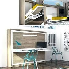lit escamotable avec bureau lit escamotable avec bureau integre horizontal socialfuzz me