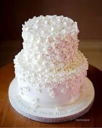 wedding cake kelapa gading white hydrangea cake for ria miranda chocolique