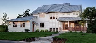 modern farmhouse home plans hahnow