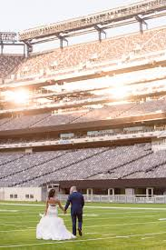 Metlife Stadium Floor Plan by Ny Giants Staffers Married In Metlife Stadium Wedding Album