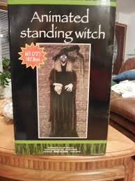halloween animated witch prop showcase big lots witch