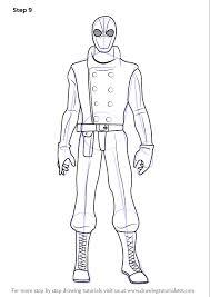 learn draw spider man noir ultimate spider man