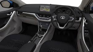 cube cars interior tata nexon interior press shots auto expo 2016 indian autos blog