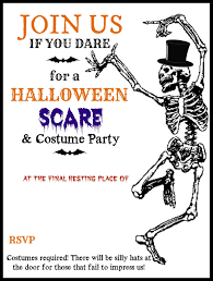 free halloween invitation templates halloween party email
