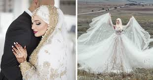 islamic wedding dresses traditional islamic wedding dresses