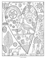 jill mayberg u0027s animal friends coloring book