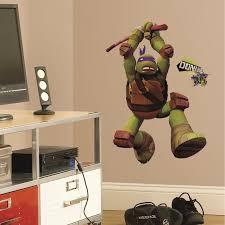 teenage mutant ninja turtles donatello giant wall decal wall2wall teenage mutant ninja turtles donatello giant wall decal