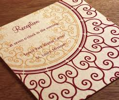 Wedding Reception Card Letterpress Wedding Reception Card Wording How To Word Your