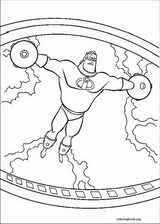 incredibles coloring pages coloringbook org