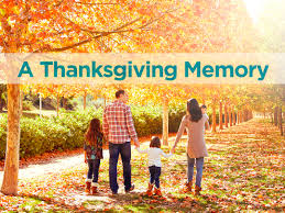a thanksgiving memory precept ministries international