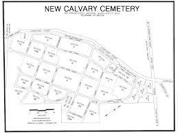 Boston Ma Map by Maps Boston Catholic Cemetery