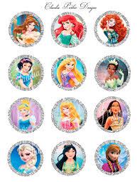 disney princess cupcake toppers disney princess 2