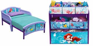 Disney Toy Organizer Disney Little Mermaid Toddler Bed Rails Toy Organizer For Girls