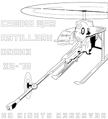 artillery drone coloring page free coloring pages for grown ups