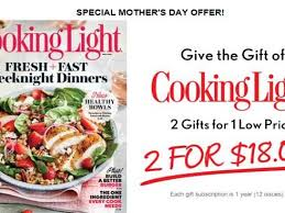 cooking light subscription status cooking light gift subscription f24 on simple collection with
