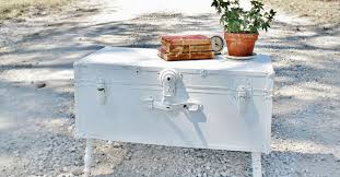 shabby chic trunk coffee table rascalartsnyc