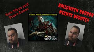 halloween horror nights 2016 map halloween horror nights 2016 maze announcement american horror