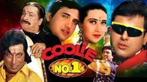 biography of movie coolie very funny comedy scenes govinda kadar khan coolie no 1 movie